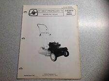 "Vintage Arctic Cat Grass Cat 21"" Self Propelled Mower Parts Manual  B2241"