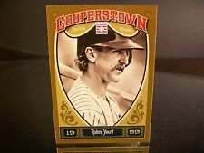 Robin Yount Panini Cooperstown 2013 Card #97 Class Of 1999 Milwaukee Brewers