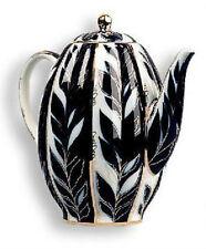 Lomonosov porcelain Winter Evening Coffee Pot  AUTHENTIC RUSSIAN MASTERPIECE