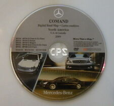 MY03-08 NAVIGATION DVD FOR COMMAND MERCEDES BENZ E-CLASS S-CLASS SLK-CLASS CLS
