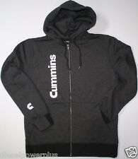 dodge cummins hoodie sweat shirt zip zippered  hooded sweater truck cummings