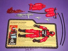 2010 Red Torches V.1 - GIJOE Figure - Pyro-Troopers - 100% Comp JOECON  (AX2)