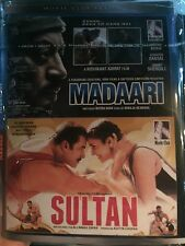 DVD Sultan & Madaari Bollywood Movie 2 In 1 Hindi movie
