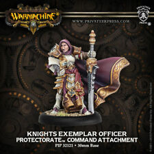 Warmachine Menoth Knights Exemplar Officer Command Attachment PIP 32121
