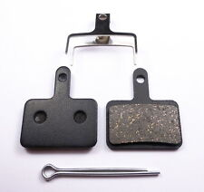 1 Pair - Resin Brake Pads for Shimano Deore - 395 446 485 525 INCL SPLIT PIN