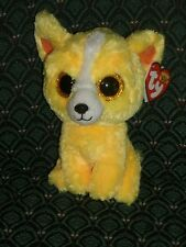 "Ty Beanie Boos - DANDELION  Gift Show Exclusive Yellow Chihuahua Dog ~ 6"" ~ 2015"