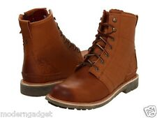 OluKai Mauna Kea MEN BOOTS Color: Redwood/Redwood  SIZE 14