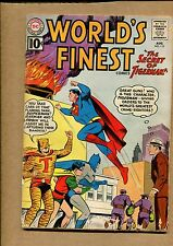 Worlds Finest #120 - Challenge of the Faceless Creature - 1961 (Grade 4.0) WH