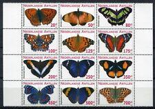 Niederl. Antillen Antilles 2010 Schmetterlinge Butterflies 1826-1837 ** MNH