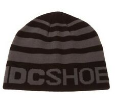 DC Shoes Rock To Fakie Beanie Hat - Black & Grey - Box6113