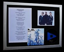 DEPECHE MODE Heaven LIMITED CD QUALITY MUSIC FRAMED DISPLAY+EXPRESS GLOBAL SHIP