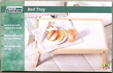 Home Essentials Wood Bed Tray