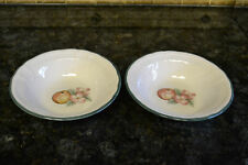 Epoch Collection Market Day Fruit Soup/ Cereal Bowl Set of 2