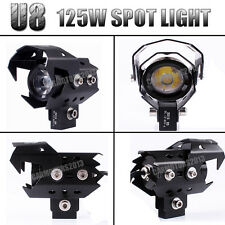 CREE 125W U8 LED TIRCYCLE MOTORCYCLE SPOT DRIVING FOG LIGHT FOR BMW Spotlight
