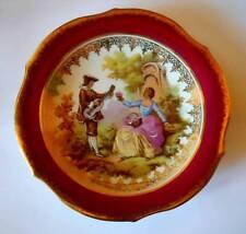 Vintage French Small Cabinet Plate Limoges Porcelaine d'Art R P France 134mm