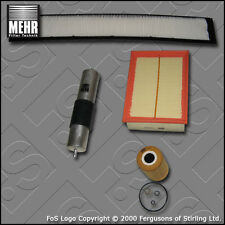 SERVICE KIT for BMW 3 SERIES (E46) 318I M43 MEHR OIL AIR FUEL CABIN FILTER 98-01