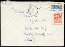 Poland 1986 Cover To Germany #C21190
