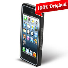 Scosche iPhone 5SE Case Black Aluminum Bumper Protector Dual Layer Cover