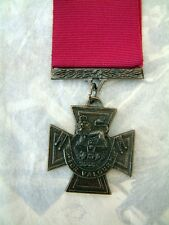 V.C. VICTORIA CROSS MILITARY ARMY MEDAL DECORATION FOR GALLANTRY AND BRAVERY