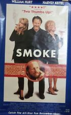 Smoke Original 1995 Single Sided Movie Poster Harvey Keitel William Hurt