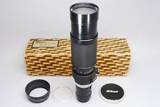 Super Rare!!【Excellent+++】Nikon Zoom Nikkor 200-600mm f/9.5 Boxed from Tokyo