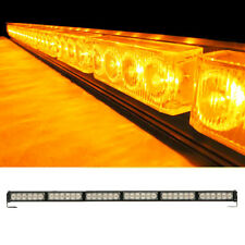 36LED Vehicle Traffic Advisor Warning Strobe Directional Light Bar Yellow/Amber