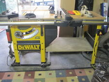 "DeWalt 746 10"" Cabinet Table Saw + Shop Fox Dust Collection System"