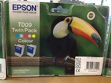 """1 """"Une"""" Cartouche d'encre EPSON T009 5 couleurs Neuf pour Stylus:900/1270/1290"""