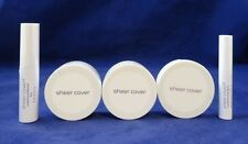 Sheer Cover Studio Mineral Makeup 30 Day 5 Piece Set Medium New With Gifts