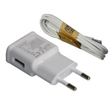 EU Plug 220V Micro USB Sync Data Cable Wall Charge For Samsung Galaxy S3 S4 FREE