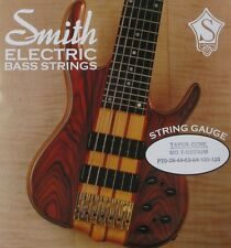 KEN SMITH TCMD-7M TAPER CORE STEEL BASS STRINGS, MEDIUM GAUGE 7's - 20-130