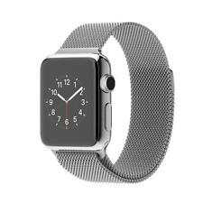 Apple Watch 38mm Stainless Steel Case Milanese Loop MJ322 jeptall