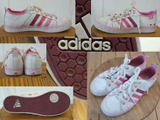 Adidas Sneakers Turnschuh City Style Girl Ortholite Leder Weiss Rosa 36 Top Zust