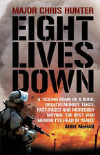 Chris Hunter Eight Lives Down Very Good Book