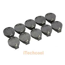 10pcs Portable CR2032 CR2025 General Button Battery Clip Holder Box Case #T1K