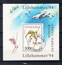 Tansania Briefmarken 1994 Olympia Lillehammer Mi.Nr. Block 239