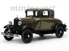SUN STAR 6132 1931 31 FORD MODEL A COUPE 1/18 DIECAST MODEL CAR CHICLE DRAB