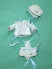 dollhouse babydoll suit light blue/threepart/handmade/doll clothing/Germany