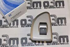 07-12 Chevrolet Silverado GMC Sierra RH Rear Silver Plate Window Switch new OEM