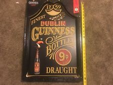 GUINNESS BEER WOOD SIGN 3-Dimensional Official Merchandise 1759 Dublin NEW