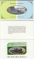 BT General 222 Railway South Wales Borderers Train Mint Phonecard in brochure