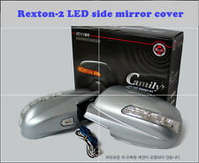 LED Light Side Mirror Cover (2 way) for Ssangyong  Rexton - 2 (2006~2008)////