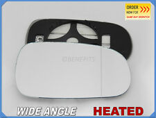 Wing Mirror Glass HONDA ACCORD 1998-2003 Wide Angle HEATED Right Side #JH007
