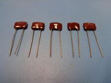 (5) CDV19FF102JO3 1000pF 1000V 5% DIPPED MICA Capacitor CD20-102J CDE Radial