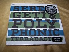 *NEW* SERENGETI & POLYPHONIC TERRADACTYL HIP HOP DUO FROM CHICAGO 2009 ANTICON