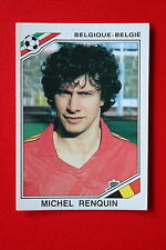 Panini MEXICO 86 N. 134 BELGIQUE BELGIE RENQUIN With back GOOD CONDITION!!