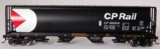 Bachmann HO Scale Train 4 Bay Cylindrical Grain Hopper Canadian Pacific 19129