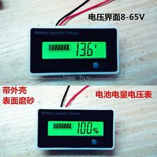 12v 24V Acid lead batteries indicator Lithium Battery capacity digital voltmeter