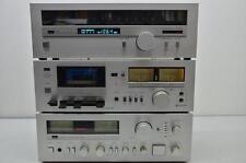 Sammlerstücke: Sansui A-80/D-100/T-80 Verstärker/Kassettendeck/Tuner Kombination