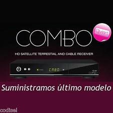 Descodificador Qviart Combo V2 HD SATELITE + TDT2 CON WIFI+CABLE HDMI